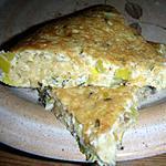 recette Galette de Pilaf blanc vert
