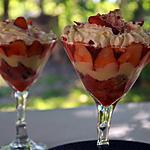 recette Trifle aux fraises