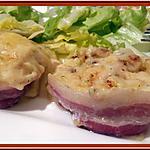 recette Purée de pommes de terre lardée