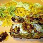 recette Rôti de porc à la bière et moutarde