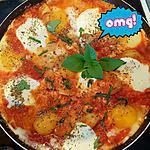 recette Poêlée d'œufs à l'italienne