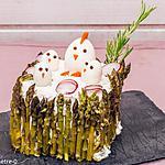 recette Sandwich cake de Pâques