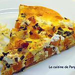 recette Tarte au butternut