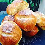 recette Des pains au lait délicieux