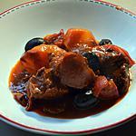 recette Mijoté de paleron de boeuf à la tomate et aux épices