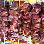 recette Brochettes de boeuf mexicaines (compatible dukan)