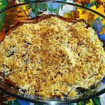 recette Crumble aux poireaux