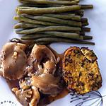recette Filet mignon en croûte d'épices et pleurotes au cognac