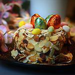 recette Moka nid de Pâques