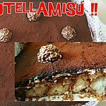 recette Nutellamisu (tiramisu de Pâques)