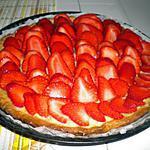 recette Tarte à la fraise