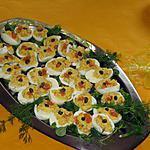 recette Oeufs mimosa au saumon fumé