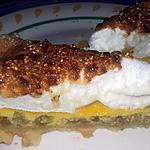 recette Tarte à la rhubarbe meringué à ma façon :-)
