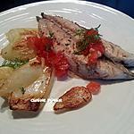 recette Filets de maquereaux marinés et fenouil braisés