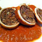 recette Encornets/ calamars farcis
