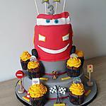 recette Gâteau et cupcakes Cars