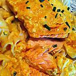 """recette Pavé de saumon à la crème de curry """"micro-ondes"""""""