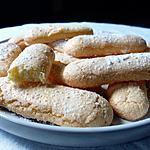 recette Biscuits cuillers sans gluten et sans lactose