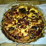 recette Tarte de Fromage  Raclette - Bacon - Poivrons - Oignons