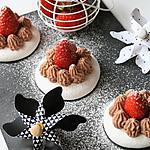 recette Mousse au chocolat sur sa meringue, bio, sans gluten, sans oeufs