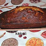 recette Cake aux raisins secs et à la cassonade