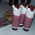 recette Smoothie fraise au lait de coco