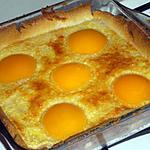 recette Tarte aux abricots (c'est mon mari qui l'a fait)