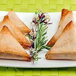 recette Briks aux rillettes de merlu