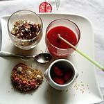 recette Assiette. Dessert.....soupe. De fraises. De kerfleury. .  Du blog Les food amour