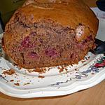 recette Cake au chocolat et aux cerises