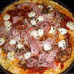 recette Omelette en pizza au jambon