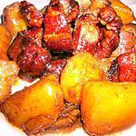 recette Boucané Porc au Miel, Sauce de Soja & Gingembre