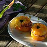 recette Tomates farcies végétariennes aux 3 riz