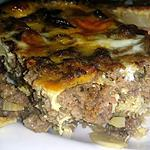 recette Gratin de viande sucré -salé -  Bobotie