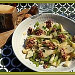 recette Salade de céleri aux noix et comté  de Martine Kilomètre 0