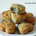 recette Muffins aux amandes et graines de pavot