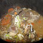 recette Fricassée de poulet au vin et aux herbes méditerranéennes