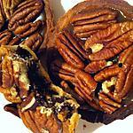 recette Tartelettes sablées, chocolat praliné et noix de pécan (thermomix ou non)