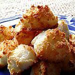 recette mini pyramides noix de coco