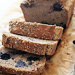 recette Pain au miel, anis, myrtilles, Bio, sans gluten, sans oeufs