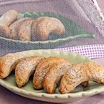 recette Demi lunes aux noix