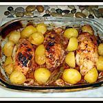 recette Cuisses de poulet farci