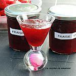 recette Confiture de fraises au micro-ondes