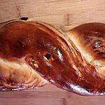 recette tresse aux abricots