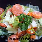 recette poêlée de surimi aux poireaux et cartottes