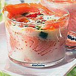 recette Oeufs cocotte au saumon