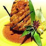recette Ananas rôti aux épices