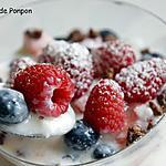 recette Yourt aux fruits des bois au sirop de gingembre