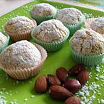 recette Bouchées aux amandes et noix de coco de Bouchra
