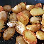 recette Pommes de Terre Grenaille Sautées Ail Thym